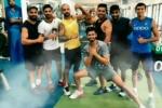 NCA జిమ్లో టీమిండియా 'స్వాడ్ గోల్స్': ద్రవిడ్తో కోహ్లీ