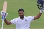India vs South Africa: మూడో టెస్టు.. సిక్స్ కొట్టి తొలి డబుల్ సెంచరీ చేసిన రోహిత్!!