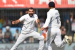 ICC Test rankings: కెరీర్ బెస్ట్ టెస్ట్ ర్యాంకులో షమీ.. మూడో పేస్ బౌలర్గా రికార్డు!!