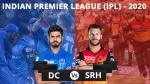 DC vs SRH: రెండు కీలక వికెట్లు కోల్పోయిన హైదరాబాద్