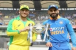 India vs Australia 2020 1st ODI: కోహ్లీ సేన బోణీ కొట్టెనా? తొలి పోరుకు తుది జట్లు ఇవే!