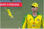 India vs Australia: వారెవ్వా స్మిత్.. వాటే క్యాచ్.. అచ్చం పక్షిలా పట్టేశావ్!