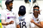 PinkBall Test: సొంత మైదానంలో తిప్పేసిన అక్షర్ పటేల్.. 112 పరుగులకే ఇంగ్లండ్ ఆలౌట్!!