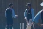 WTC Final: నెట్స్లో విరాట్ కోహ్లీ X రోహిత్ శర్మ..! వీడియో