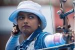 Deepika Kumari..పర్ఫెక్ట్ షాట్: పతకాలపై ఆశలు రేకెత్తించి..: క్వార్టర్స్లో దూసుకెళ్లిన బాణం