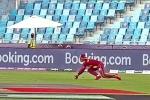 WI vs SA T20 World Cup: రస్సెల్ బుల్లెట్ త్రో.. హెట్మైర్ కళ్లు చెదిరే క్యాచ్! వీడియో