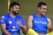 IPL 2021: నెట్స్లో చెమటోడ్చిన ధోనీ, రైనా.. అంతకుముందు బ్యాట్ చెక్కుతూ! (వీడియో)