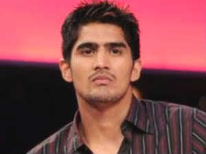 Vijender Tie The Knot With Delhi Girl 160511 Aid