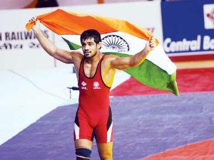 Sports Sushil Kumar Be India S Flagbearer At London Olympics