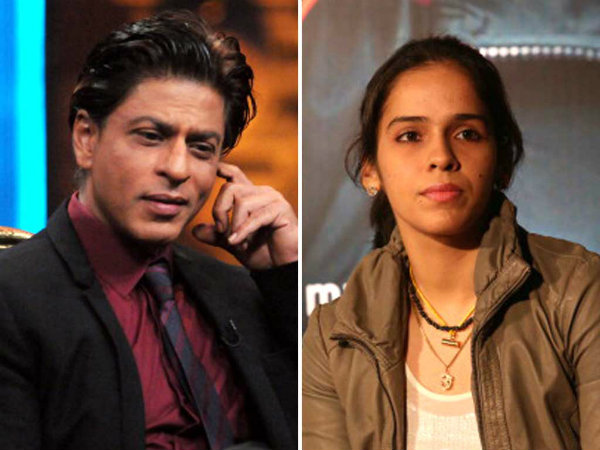 Saina Nehwal Says Srk Is Sexiest Person