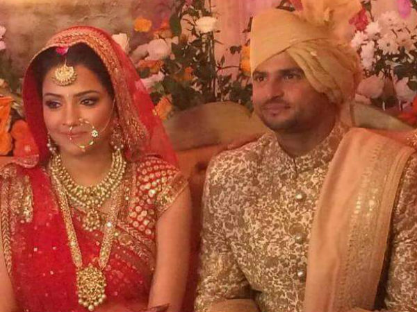 Suresh Raina Gets Married Childhood Friend Priyanka Chaudha