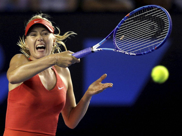 French Open Maria Sharapova Starts Title Defence With Win