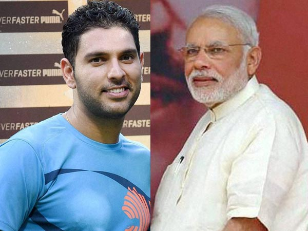 Not Selfie But Velfie How Yuvraj Singh Brought Smile On Pm