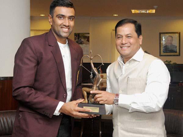 Ravichandran Ashwin Presented With His Arjuna Award