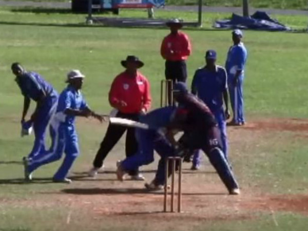 Cricket match turns into wrestling-kickboxing contest; player banned for life