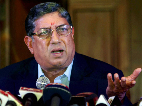 N Srinivasan Could Be Replaced As Icc Chairman Bcci Chief Sh
