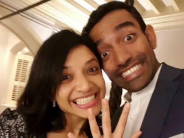 Robin Uthappa Gets Engaged Long Time Girlfriend Sheethal Gautam