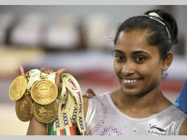 Historic Feat Dipa Karmakar Becomes 1st Indian Woman Gymnas