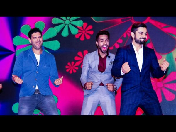 Virat Kohli Yuvraj Singh Dance The Night Away At Charity G