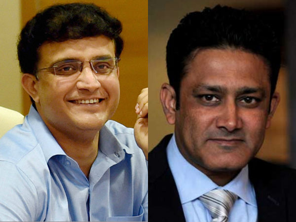 Will Ganguly Replace Kumble On Icc Panel