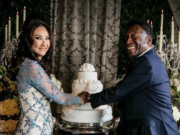 Legendary Footballer Pele Marry Third Time