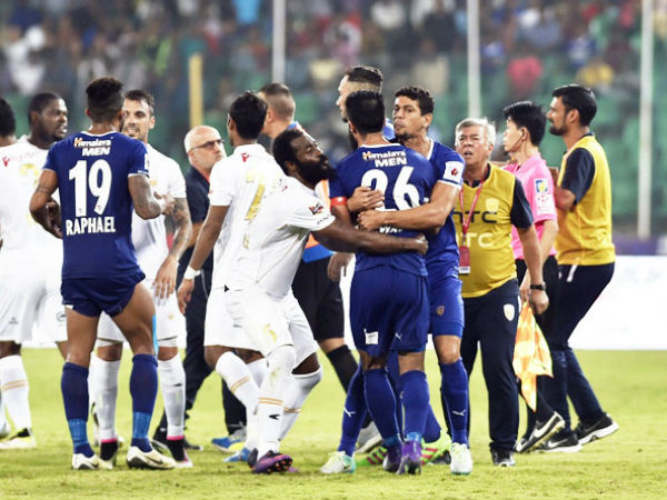 Northeast Hold Chennaiyin 3 3 Dramatic Match