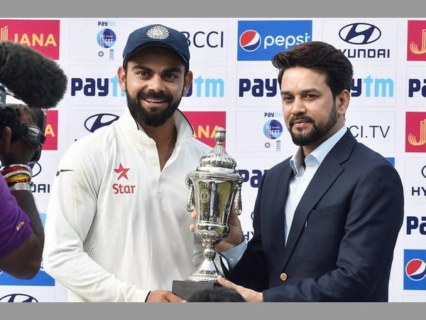 Spirited Captain Virat Kohli Marshalling India Bowlers Well