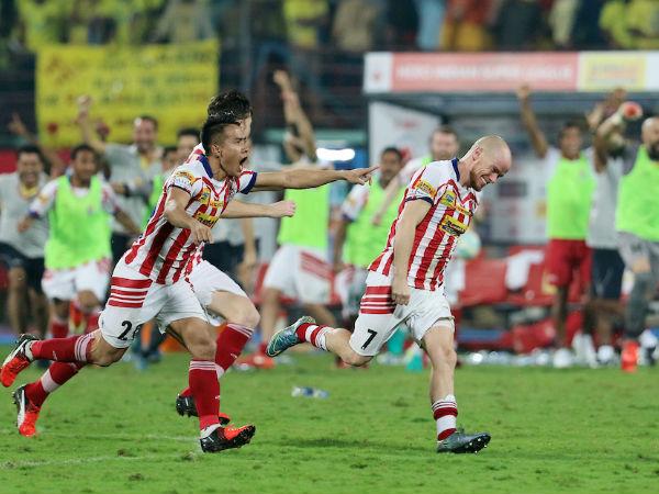 Atletico De Kolkata Outclass Kerala Blasters Isl 2016 Final