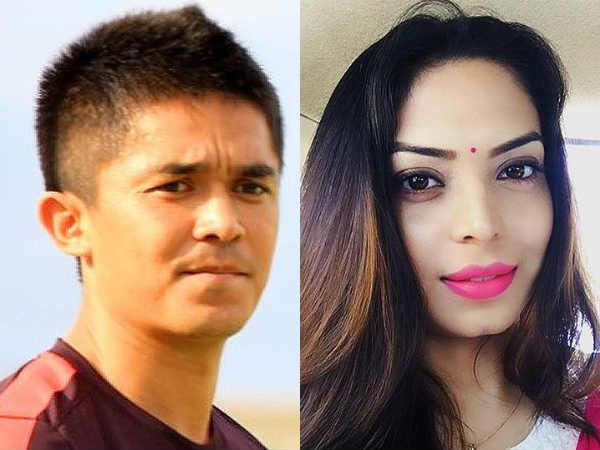 Sunil Chhetri Wed Ex Football Star S Daughter Sonam