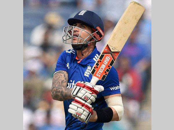 England Opener Alex Hales India Tour Ends With Fractured Hand