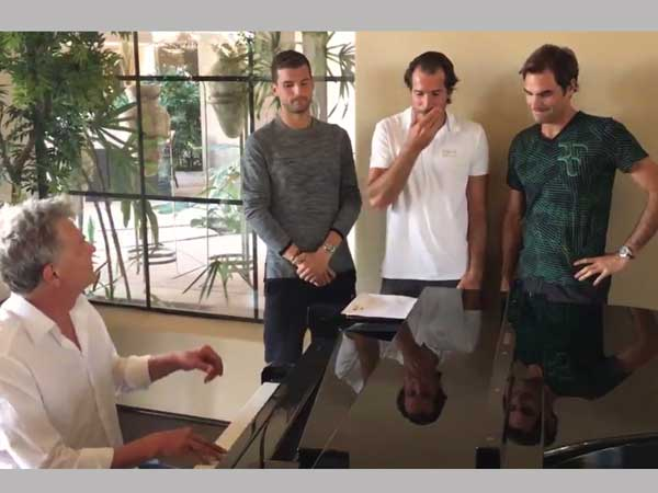 Roger Federer S Tennis Player Boy Band Returns With Another Guaranteed Hit