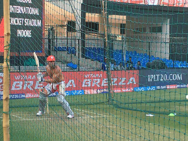 David Miller Marcus Stoinis Sweating It In Indore Ahead Match