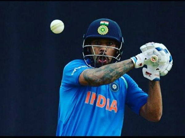 Shikhar Dhawan Breaks Sachin's Record in ICC's 50-Over Tournaments
