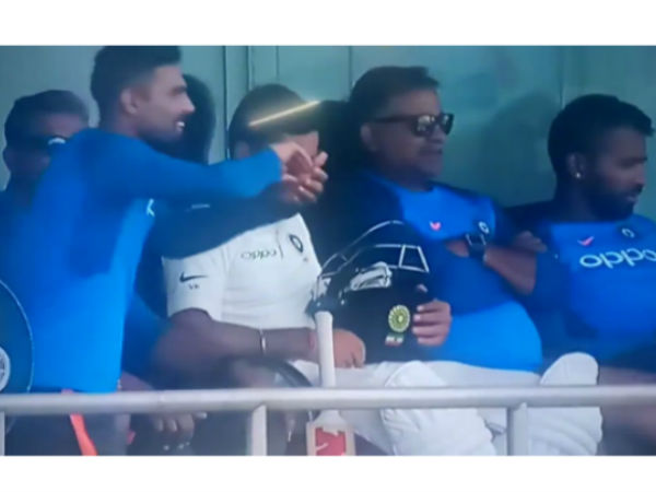 Watch Virat Kohli Ravi Shastri Burst Into Laughter With Ravindra Jadejas Dressing Room Act