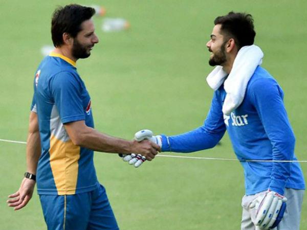 Virat Kohli Signed Team India Jersey Auctioned Shahid Afridi Foundation