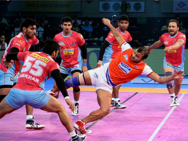 Pkl 2017 Haryana Steelers Beat Jaipur Pink Panthers 30