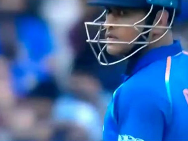 Watch Ms Dhoni Gives Kedar Jadhav The Death Stare After Run