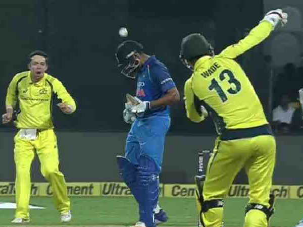 Watch Rohit Sharma Sees The Funny Side After Getting Hit On Helmet By Mathew Wade