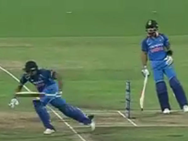 Twitter Is Blaming Virat Kohli Rohit Sharma S Run Out What A Bad Mix Up