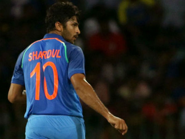 Here S Why Shardul Thakur Chose Wear Jersey Number 10 On His Debut Against Sri Lanka