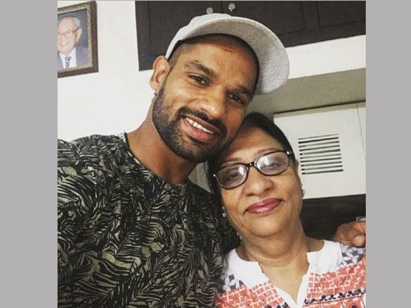 Shikhar Dhawan Speaks About Her Mother S Health Shares Picture With Her