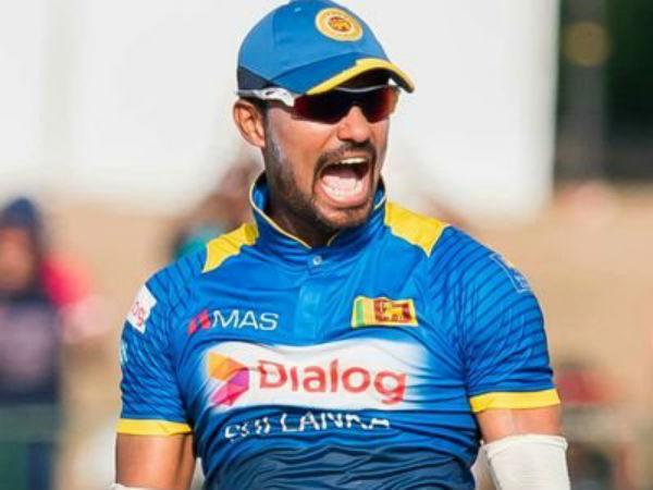 Sri Lanka Suspend Danushka Gunathilake Breach Discipline