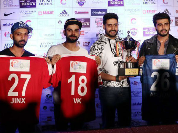 Indian cricketers vs Bollywood Football match date and venue announced