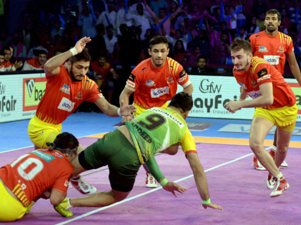 Pkl 2017 Gujarat Fortunegiants Beat Patna Pirates The Second Time