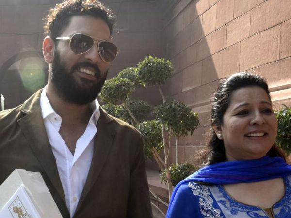 Yuvraj Singh S Mother Shabnam Asks What Is Akanksha Fighting