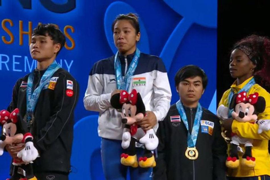 Mirabai Chanu Lifts 194 Kgs Win Gold Medal At 2017 World Weightlifting Championship