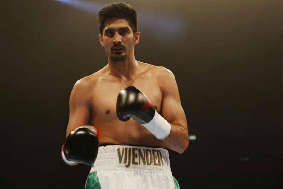 Vijender Singh S 10th Pro Boxing Bout Against Rocky Fielding In United Kingdom On March