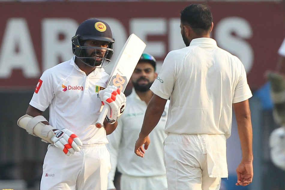 Kolkata Test Virat Kohli Mohammed Shami Angry As Sri Lanka Wastes Time