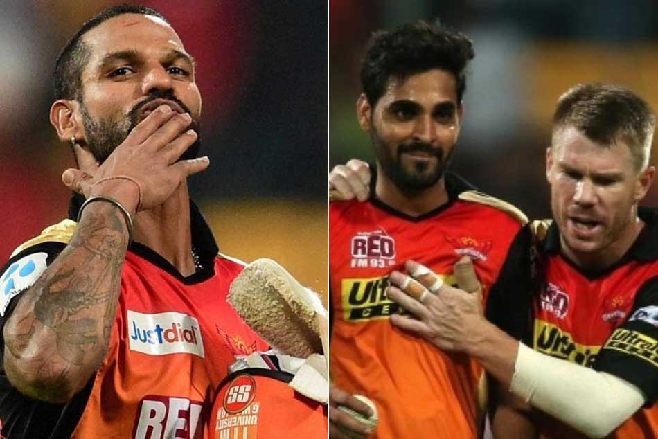 Ipl 2018 Sunrisers Hyderabad Likely Retain Dhawan Bhuvneshwar Warner