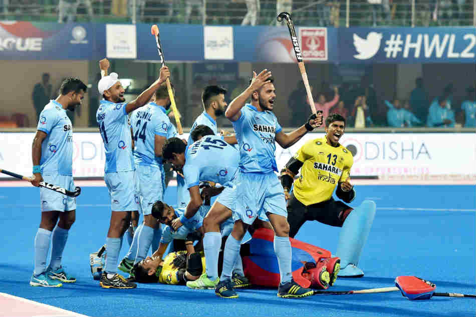 Hockey World League Final India Beat Belgium Thrilling Shootout To Enter Semi Final